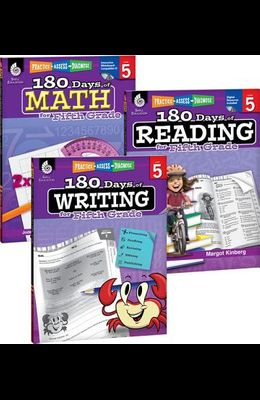 180 Days of Reading, Writing and Math for Fifth Grade