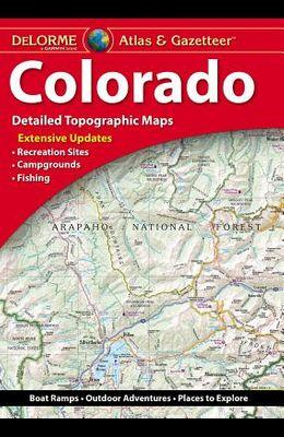 Delorme Atlas & Gazetteer: Colorado