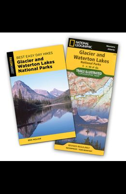 Best Easy Day Hiking Guide and Trail Map Bundle: Glacier and Waterton Lakes National Parks [With Map]