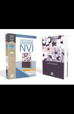 Santa Biblia Nvi, Ultrafina Compacta, Leathersoft, Flores
