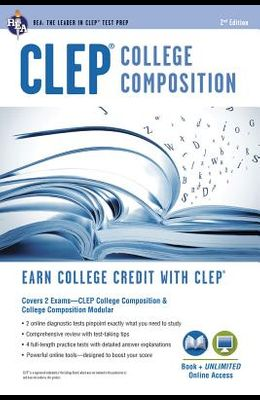 CLEP(R) College Composition 2nd Ed., Book + Online