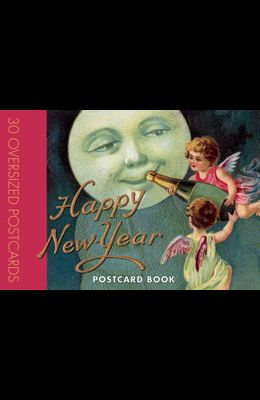 Happy New Year Postcard Book