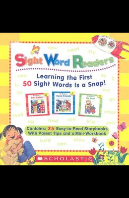Sight Word Readers Parent Pack: Learning the First 50 Sight Words Is a Snap! [With Mini-Workbook]