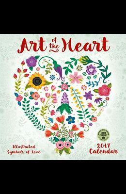 Art of the Heart 2017 Wall Calendar: Illustrated Symbols of Love