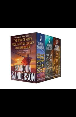Stormlight Archive MM Boxed Set I, Books 1-3: The Way of Kings, Words of Radiance, Oathbringer