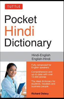Tuttle Pocket Hindi Dictionary: Hindi-English English-Hindi (Fully Romanized)
