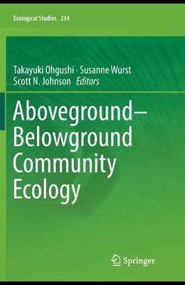 Aboveground-Belowground Community Ecology