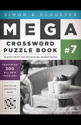 Simon & Schuster Mega Crossword Puzzle Book #7, Volume 7