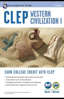 CLEP(R) Western Civilization I Book + Online