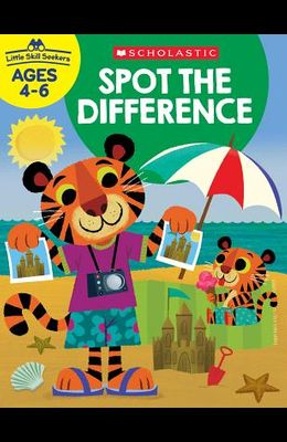 Little Skill Seekers: Spot the Difference Workbook
