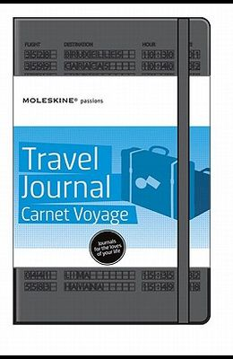 Moleskine Passion Journal - Travel, Large, Hard Cover (5 X 8.25)