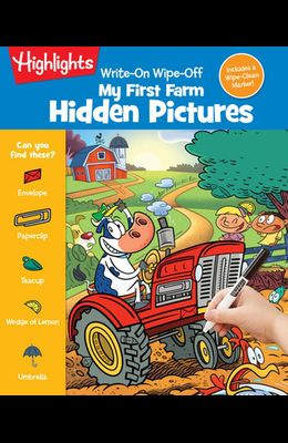 Write-On Wipe-Off My First Farm Hidden Pictures