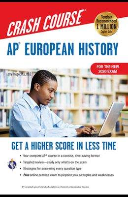 Ap(r) European History Crash Course, for the New 2020 Exam, Book + Online