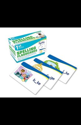 1st Grade Spelling Flashcards: 240 Flashcards for Building Better Spelling Skills Based on Sylvan's Proven Techniques for Success