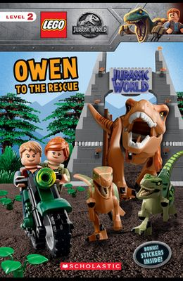 Owen to the Rescue (Lego Jurassic World: Reader with Stickers) [With Stickers]