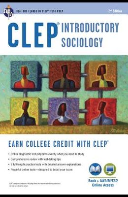 Clep(r) Introductory Sociology Book + Online
