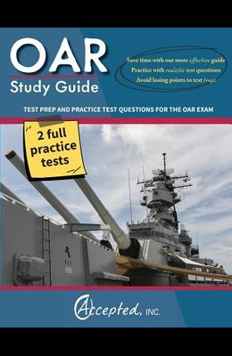 OAR Study Guide: OAR Test Prep and Practice Test Questions for the Officer Aptitude Rating Exam