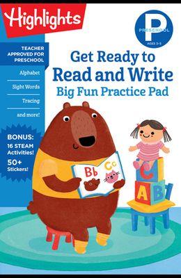 Preschool Get Ready to Read and Write Big Fun Practice Pad