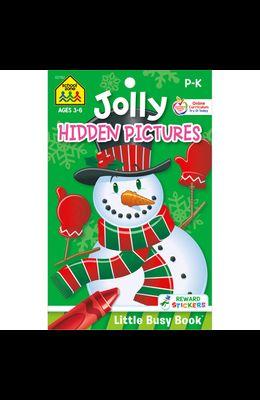 School Zone Jolly Hidden Pictures Tablet Workbook
