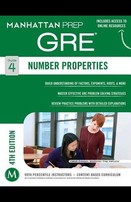 GRE Number Properties (Manhattan Prep GRE Strategy Guides)
