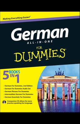 German All-In-One for Dummies [With CD (Audio)]