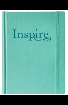 Inspire Bible-NLT-Elastic Band Closure: The Bible for Creative Journaling