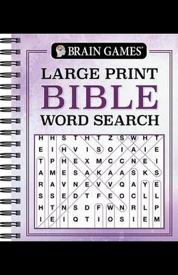 Brain Games Large Print Bible Word Search