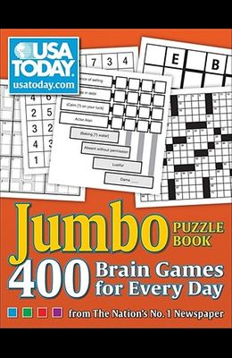 USA Today Jumbo Puzzle Book, 8: 400 Brain Games for Every Day