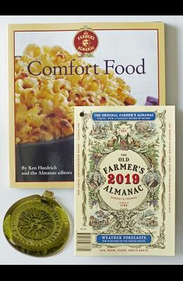 The Old Farmer's Almanac 2019/Comfort Food Cookbook/Sun Catcher Bundle