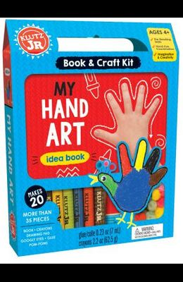 My Hand Art [With Book and POM-Poms, Googly Eyes, Glue and Crayons]