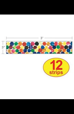 The Very Hungry Caterpillar(tm) Dots Straight Borders