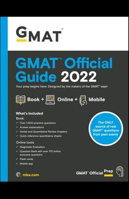 GMAT Official Guide 2022: Book + Online Question Bank