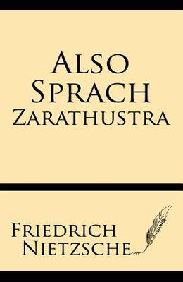 Also Sprach Tharathustra