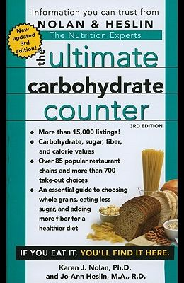The Ultimate Carbohydrate Counter