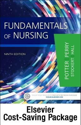 Fundamentals of Nursing Textbook 9e and Mosby's Nursing Video Skills Student Version Online (Access Card) 4e Package