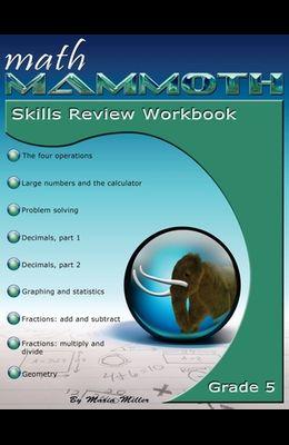 Math Mammoth Grade 5 Skills Review Workbook
