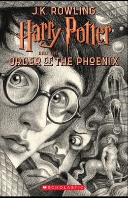 Harry Potter and the Order of the Phoenix (Brian Selznick Cover Edition)