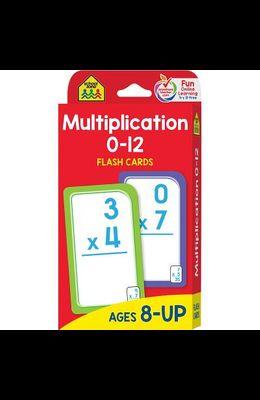 Multiplication 0 -12: Flashcards