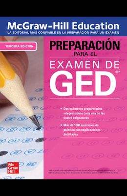 McGraw-Hill Education Preparacion Para El Examen de Ged, Tercera Edicion
