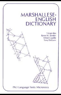 Marshallese-English Dictionary