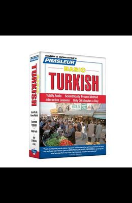 Pimsleur Turkish Basic Course - Level 1 Lessons 1-10 CD: Learn to Speak and Understand Turkish with Pimsleur Language Programs [With Free CD Case]