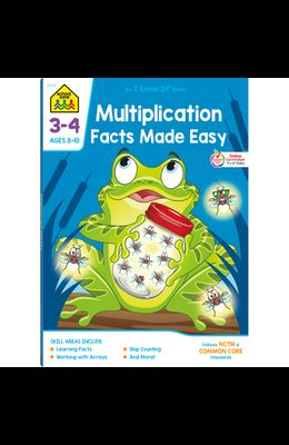 Multiplication Facts Made Easy 3-4 Deluxe Edition Workbook