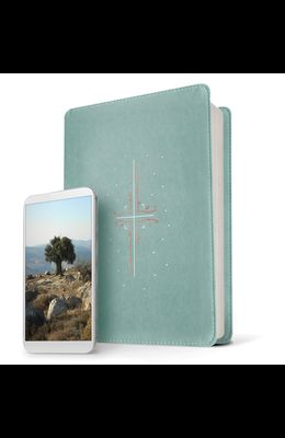 Filament Bible NLT (Leatherlike, Teal, Indexed): The Print+digital Bible