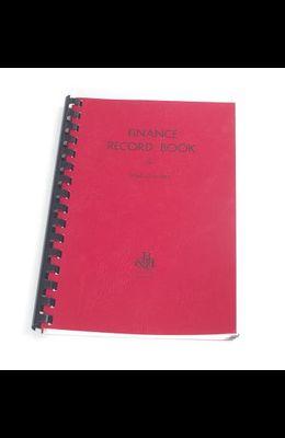 Finance Record Book for Small Churches