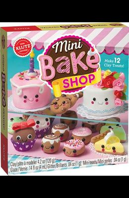 Mini Bake Shop [With 48 Page Book and Air-Dry Clay]