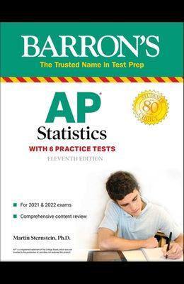 AP Statistics: With 6 Practice Tests