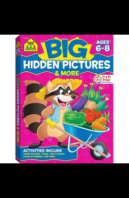 Big Hidden Pictures & More! Workbook
