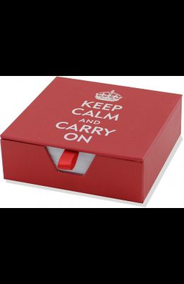 Keep Calm & Carry on Boxed Desk Notes