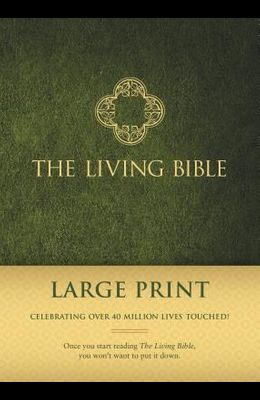 Living Bible Paraphrased-LIV-Large Print