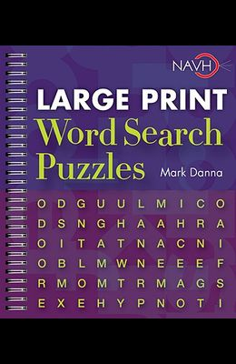 Large Print Word Search Puzzles, 1